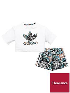 adidas-originals-younger-girls-zoo-set-whitenbsp