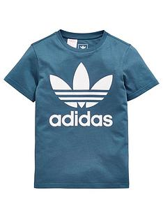 adidas-originals-boys-trefoil-tee-bluenbsp
