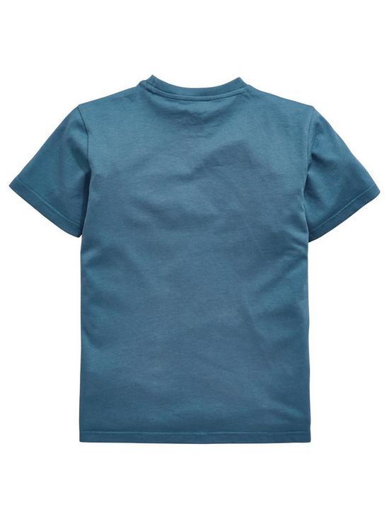 d88cbd46d52a adidas Originals Boys Trefoil Tee - Blue