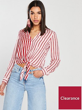 river-island-stripe-crop-shirt--pink