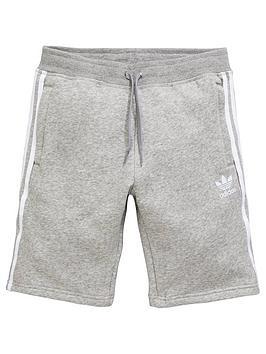 adidas-originals-boys-shorts-medium-grey-heathernbsp
