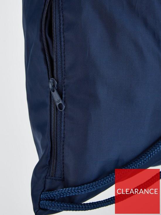 ... adidas Originals Kids Trefoil Gym Sack - Navy. View larger 6f2f732ad2aa1