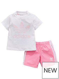 adidas-originals-adidas-originals-baby-girls-short-and-tee-set
