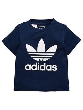 adidas-originals-baby-boys-trefoil-tee-navynbsp