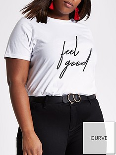river-island-feel-good-t-shirt--white