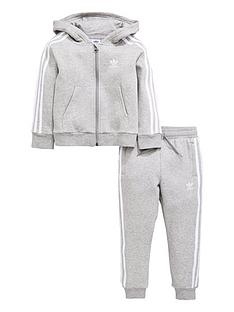 adidas-originals-younger-boys-trefoil-tracksuit-medium-grey-heathernbsp