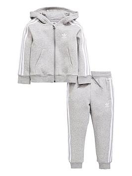 adidas-originals-younger-boys-trefoil-tracksuit-medium-grey-heathernbsp