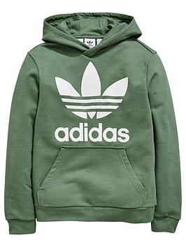 adidas-originals-boys-trefoil-hoodie-greennbsp