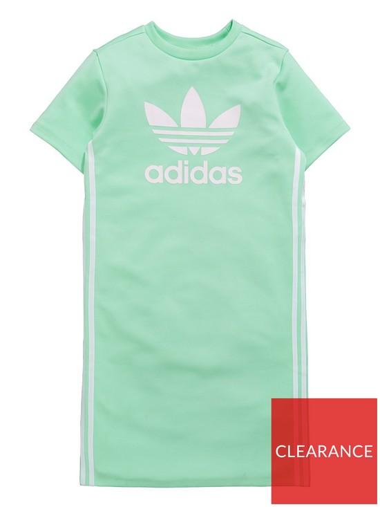 b447f371e275 adidas Originals Girls Zoo Dress - Mint