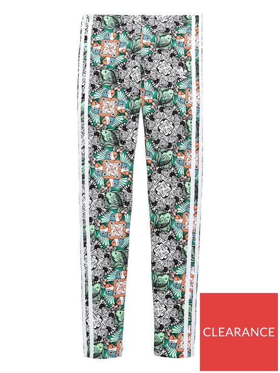0fda4ef21 adidas Originals Girls Zoo Leggings - Print