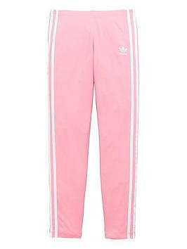 adidas-originals-girls-3-stripe-leggings-pinknbsp