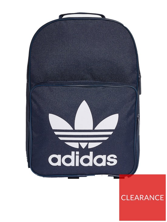 f09bb01687 adidas Originals Kids Classic Trefoil Backpack - Navy