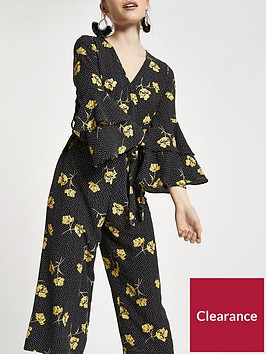 ri-petite-floral-cropped-wide-leg-jumpsuit-black