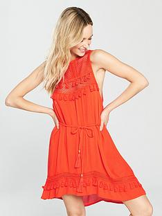 river-island-mesh-high-apex-beach-dress-red
