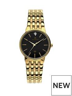 accurist-accurist-ladies-black-dial-diamond-watch
