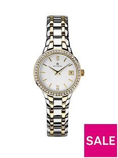 accurist-ladies-two-tone-stone-set-watch