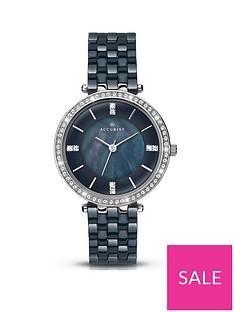 accurist-dark-blue-diamond-set-dial-with-dark-blue-ceramic-bracelet-ladies-watch
