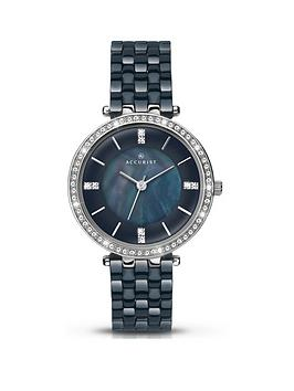 accurist-dark-blue-diamond-set-dial-with-dark-blue-ceramic-bracelet-ladies-watch