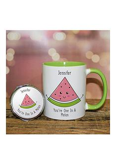 one-in-a-melon-mug-and-mirror-set