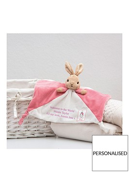 peter-rabbit-personalised-flopsy-comforter
