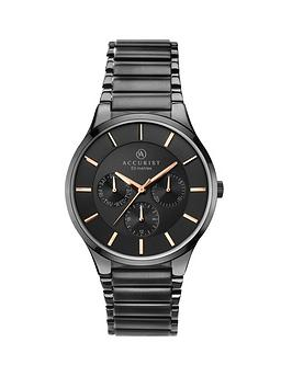 accurist-accurist-men039s-multi-function-bracelet-watch