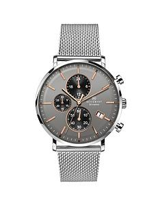 accurist-accurist-men039s-stainless-steel-mesh-bracelet-watch