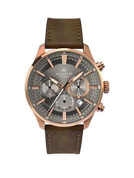 accurist-accurist-men039s-chronograph-strap-watch