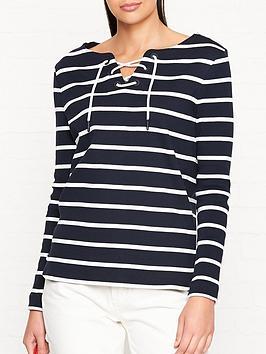 barbour-watergate-striped-neck-tie-detail-sweatshirt-navywhite