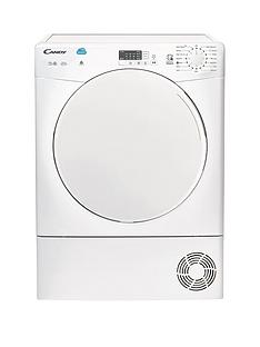 Candy CS C10LF 10kg Load Condenser Sensor Tumble Dryer with Smart Touch - White