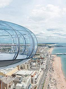 virgin-experience-days-british-airways-i360-flight-with-gin-afternoon-tea-at-metrodeco-tea-salon-for-twonbspin-brighton-east-sussex