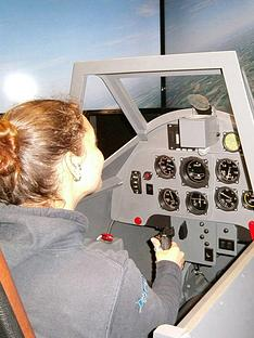 virgin-experience-days-battle-of-britian-dogfight-simulator-for-two-innbspleighton-buzzardnbspbedfordshirenbsp