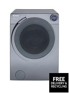 Candy Bianca BWM 149PH7R 9kg Load, 1400 Spin Washing Machine with Simply-Fi - Graphite
