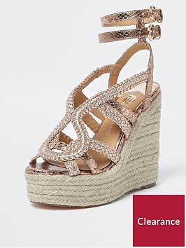 river-island-river-island-platform-braided-wedge--rose-gold