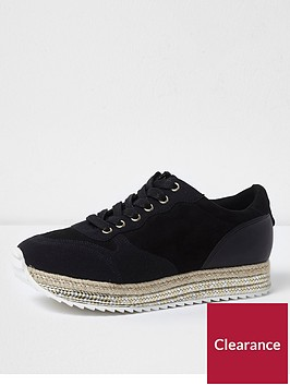 river-island-river-island-lace-up-espadrille-runner--black