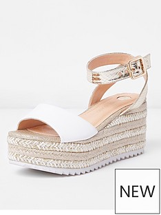 river-island-river-island-two-part-espadrille-sandal--gold