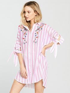 river-island-oversized-floral-stripe-nightshirt-pink