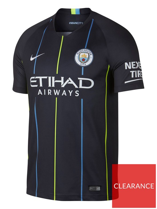 info for 9597f eecfa Youth Manchester City Short Sleeved Away Stadium Jersey