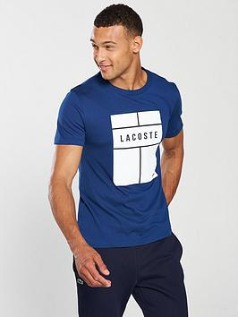 lacoste-panel-graphic-t-shirt