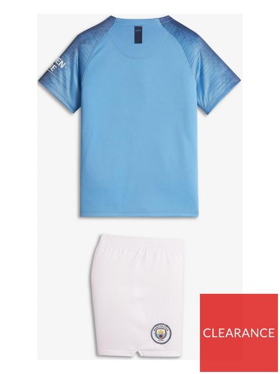9e978fbb3d7 Nike Little Kids Manchester City 18 19 Home Kit