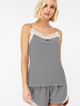 accessorize-stripe-shorts-and-cami-pyjama-setnbsp