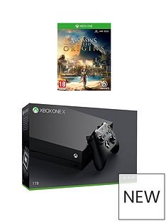 xbox-one-x-console-plus-assassin-creed-plus-optional-controller-andor-12-months-xbox-live