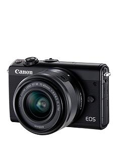 canon-eos-m100-csc-limited-edition-camera-kit-inc-15-45mm-lens-and-case--nbspsave-pound50-with-voucher-code-lxjxj