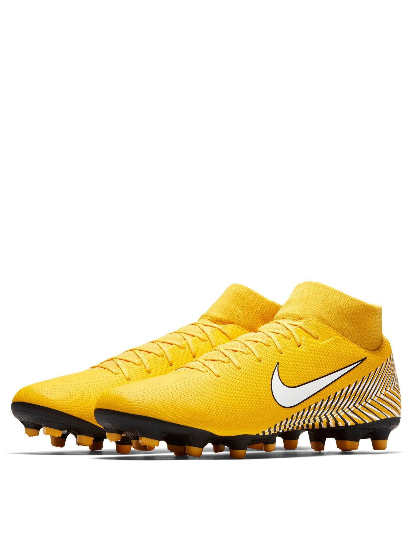 bad065d3a9e5 clearance nike mercurial superfly vi academy neymar mg football boots amarillo  white 2922c 508b7