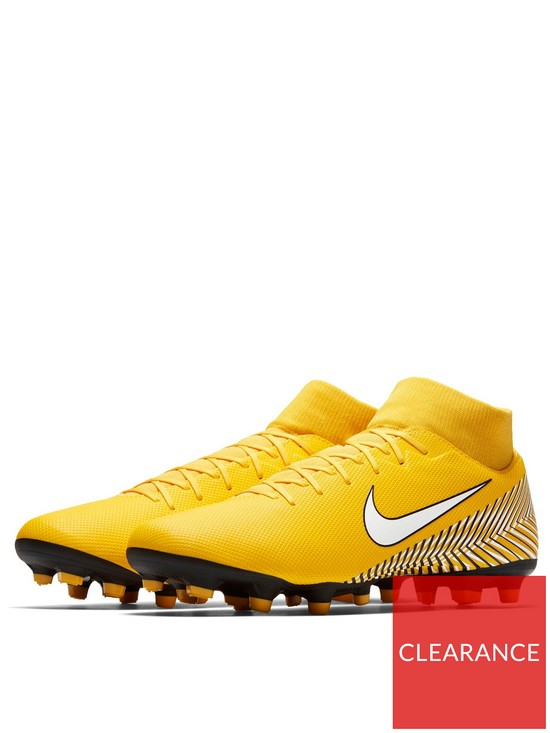 212fb36b9 Nike Mercurial Superfly VI Academy Neymar MG Football Boots -  Amarillo White