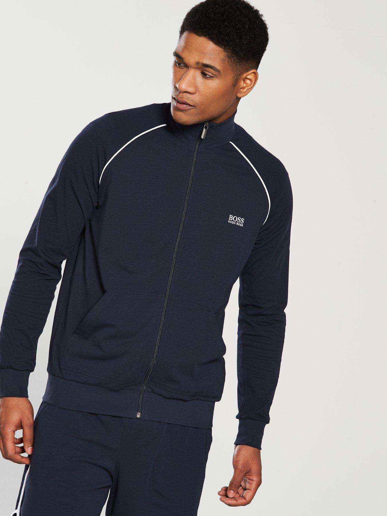 Hugo Boss Lightweight Zip Loungetop