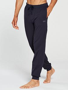 boss-bodywear-lightweight-cuffed-lounge-pants-navy