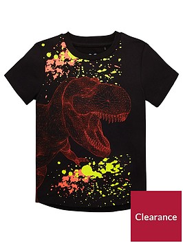 mini-v-by-very-x-ray-t-rex-tee-black