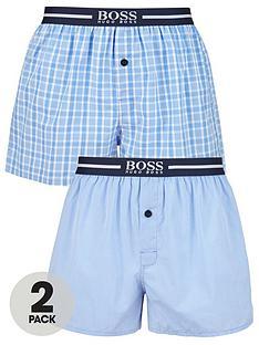 boss-2-pack-woven-boxer-short-blue