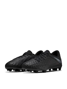 nike-junior-hypervenom-phantom-iii-club-firm-ground-football-boots--nbspblack