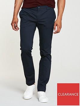 hugo-slim-fit-chino-trousers-navy